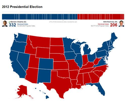 2012 election result