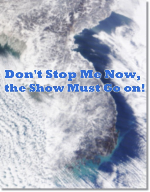don't stop me now, the show must go on