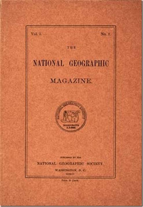 내셔널 지오그래픽 창간호 1888